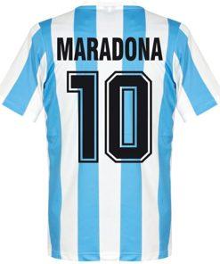 maradona trikot retro argentinien