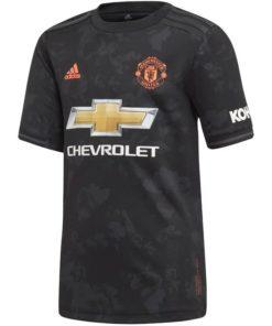 Manchester United 3rd Trikot Schwarz