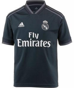 Real Madrid Auswärtstrikot Kinder dunkelgrau