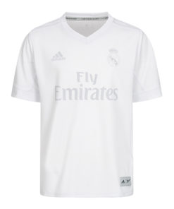 Real Madrid recyceltes Kindertrikot weiss