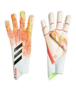 Adidas Predator Unifora Pro TW-Handschuhe weiß-rosa