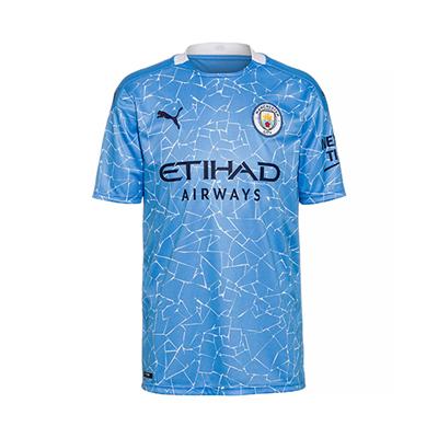 Puma Manchester City Home Trikot Herren 2020-2021 Hellblau