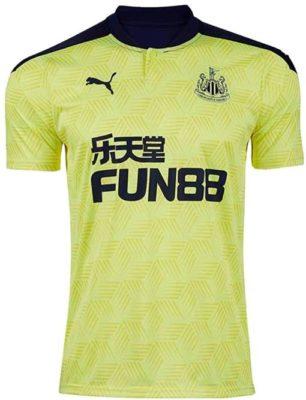 Auswärtstrikot von Newcastle United