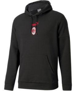 ac milan hoodie schwarz puma