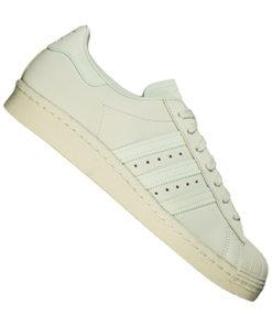 adidas originals superstars 80s sneaker herren creme-weiss