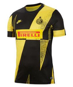 inter mailand pre match top 19-20 herren schwarz-gelb