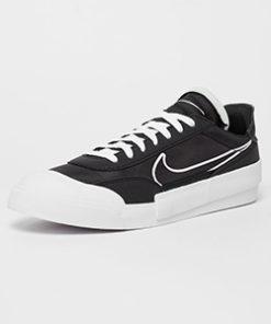 nike drop type sneaker herren schwarz-weiss 2