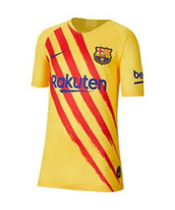 nike fc barcelona ausweich trikot kinder gelb