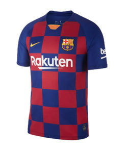 nike fc barcelona home jersey 19-20 herren blau rot