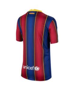 nike fc barcelona home jersey 20-21 kinder blau-rot