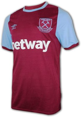 west ham trikot 2020 2021 home