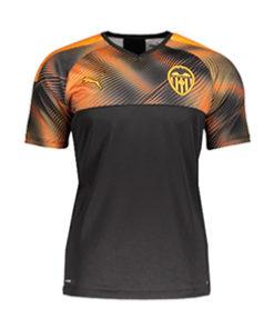 Puma FC Valencia Away Trikot 19-20 Herren Schwarz-Orange