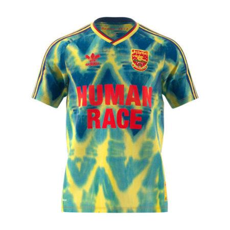 adidas arsenal london human race blau gelb