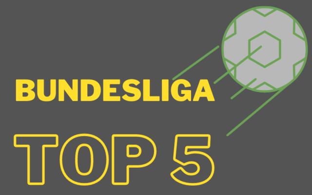 beste spieler der bundesliga top 5