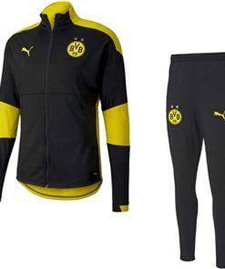 bvb trainingsanzug schwarz gelb 2020 2021 puma