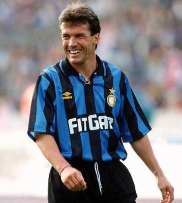 Lothar Matthäus Inter Mailand Trikot 91/92