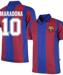 maradona barcelona retro trikot 82 84
