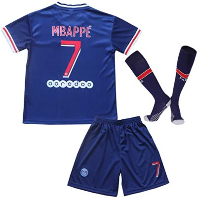 mbappe trikot-set kinder psg 2020 2021