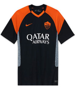 nike as rom 3rd trikot herren 20-21 schwarz orange
