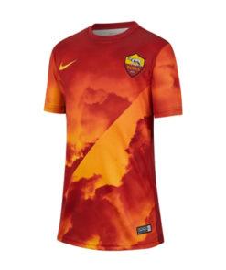 nike as rom prematch shirt kinder orange-rot (1)