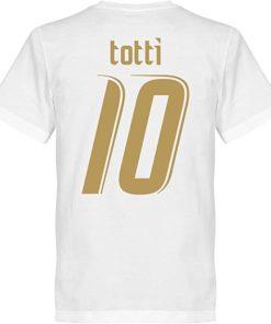 francesco totti t shirt italien 2006