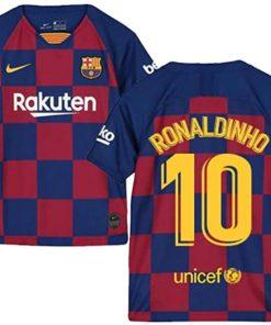 ronaldinho kinder jersey barcelona