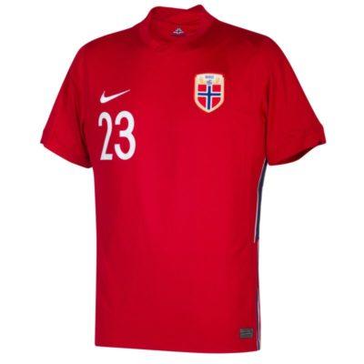 haaland trikot norwegen home rot