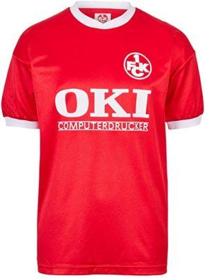 1. FC Kaiserslautern Retro Trikot 1991 Sponsor OKI