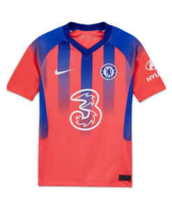 nike chelsea london 3rd trikot kinder 20-21 rot