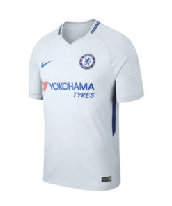 nike chelseal london away trikot kinder 17-18 weiss