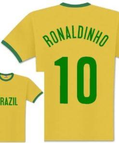 ronaldinho brasilien t-shirt