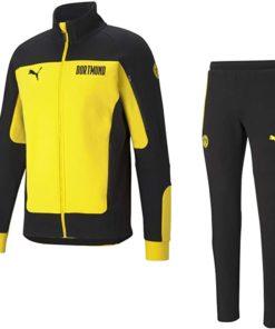 Borussia Dortmund Trainingsanzug puma gelb 20/21