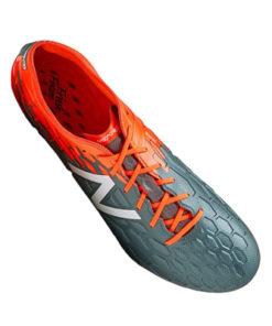 New Balance Visaro 2.0 pro fg fussballschuhe grau orange 3