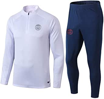 Parist Saint Germain Trainingsanzug blau-weiß
