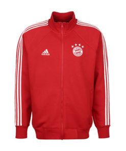 adidas fc bayern münchen icon trainingsjacke herren rot