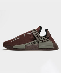adidas originals pharrel williams hu nmd damen braun