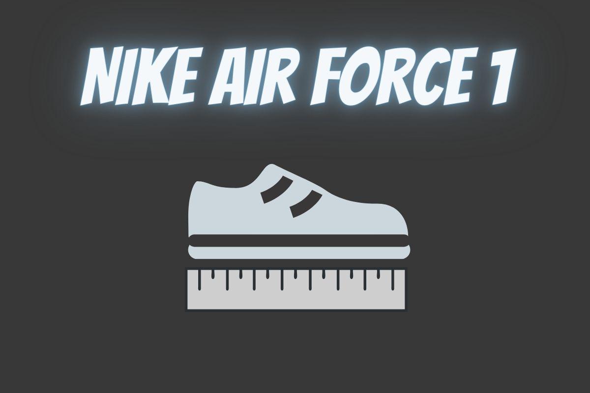 wie fallen air force 1 aus größe