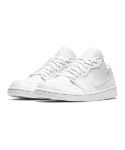 Air Jordan 1 Low Sneaker Herren Weiss