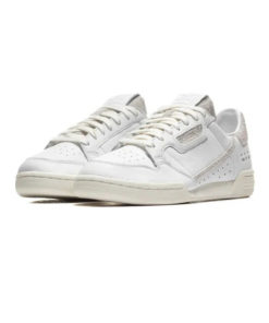 adidas continental 80 herren sneaker all white