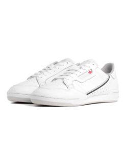 adidas continental 80 herren sneaker weiss