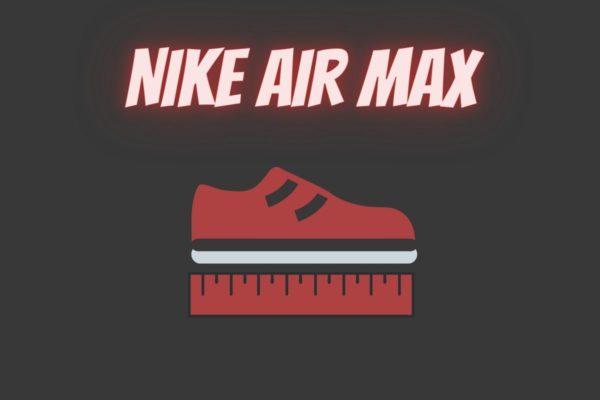 wie fallen air max aus größe