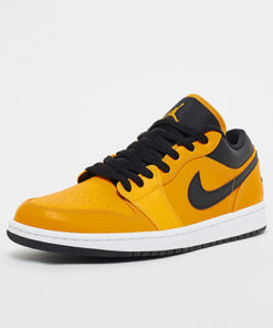 air jordan 1 low sneaker herren gelb-schwarz 1