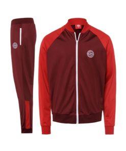 bayern münchen trainingsanzug rot