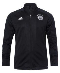 fc bayern trainingsjacke schwarz adidas