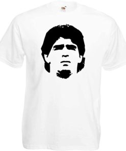 maradona shirt weiss