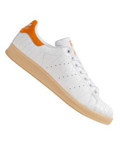 adidas originals stan smith herrensneaker weiss orange