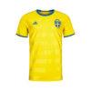 adidas schweden home trikot herren gelb