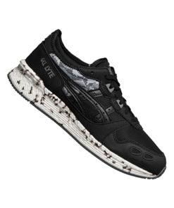 asics tiger hypergel-lyte herren schwarz grau sneaker