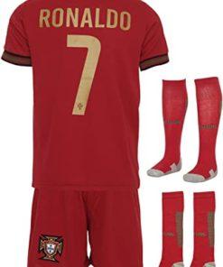 ronaldo trikot set portugal rot