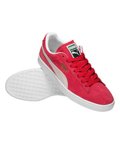 PUMA Suede Classic Leder Sneaker herren rot 1